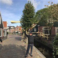 陈馆长在阿娒斯特丹