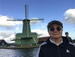 陈馆长在荷兰拍